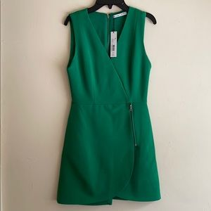 Green Alice and Olivia mini dress